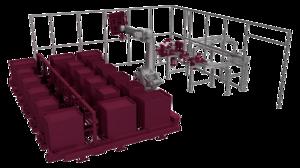 kombinierter WEKAL Kettenförderer